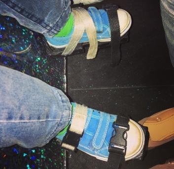 Clip on Skates for the little ones