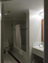 Bathroom (with a bath - woohoo!)